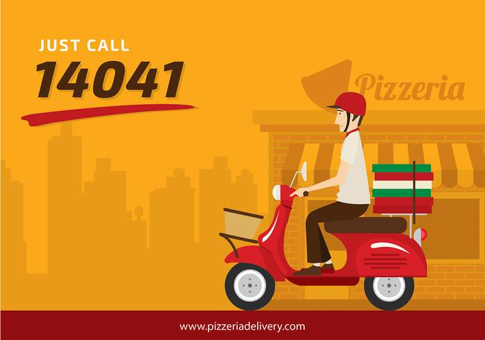scooter pizzeria free vector download free vectors clipart graphics vector art scooter pizzeria free vector download