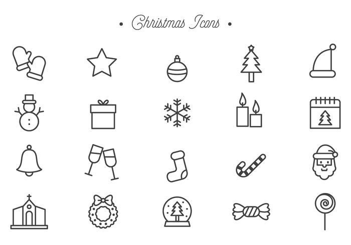 Vettori di Natale