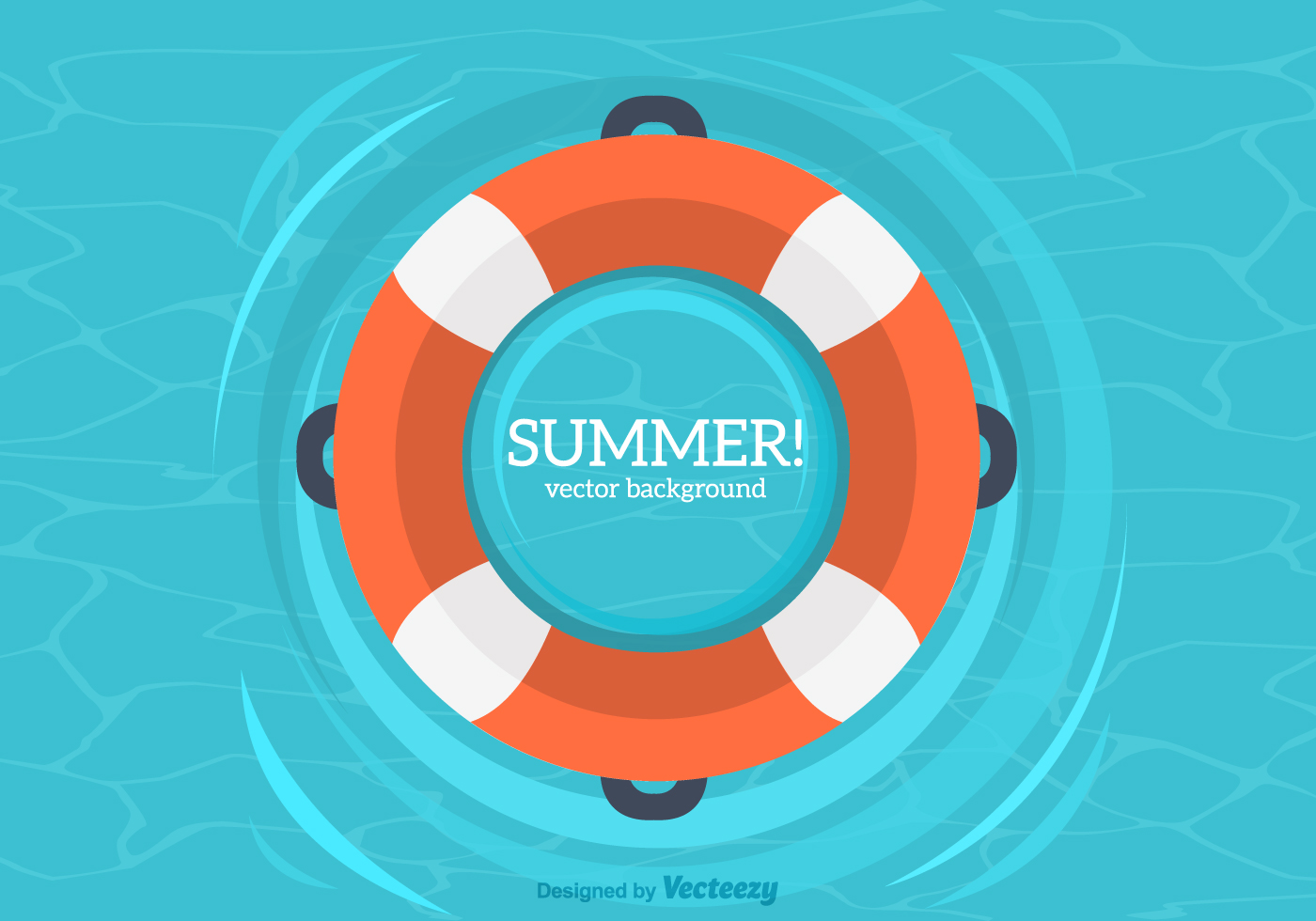 Summer Inner Tube Vector Background Download Free