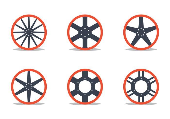 Hubcap Vectors