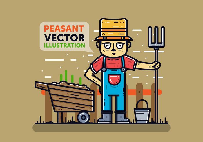 Free Peasant Vector