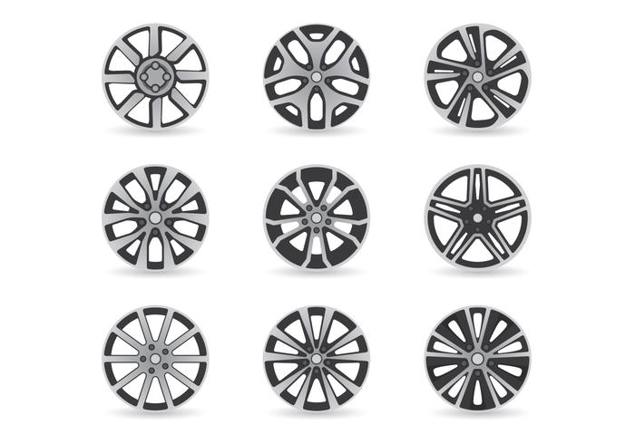 Retro Wheels Set
