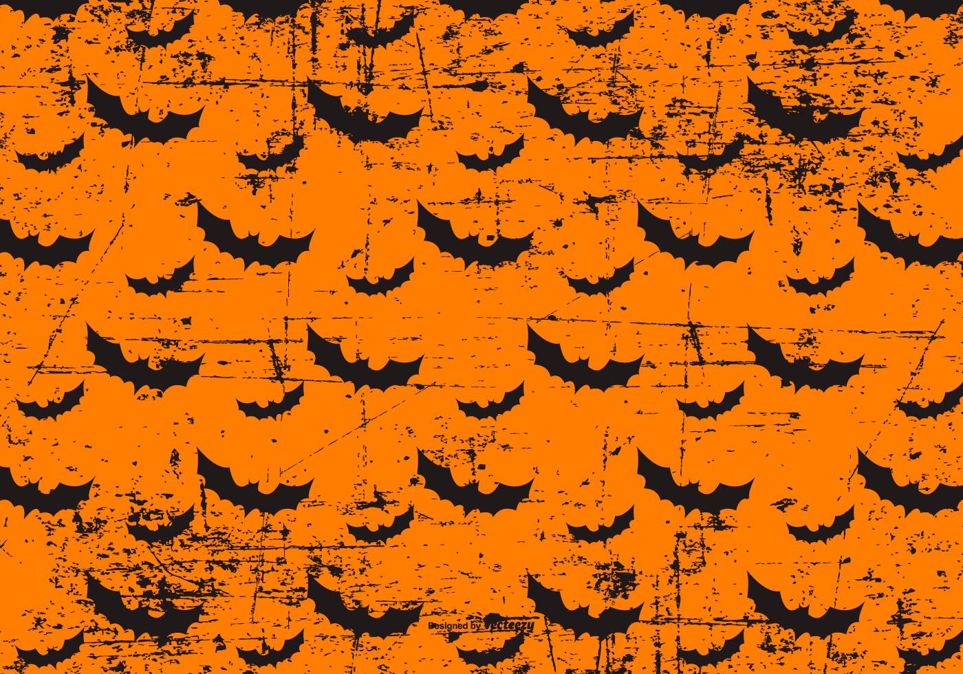 Grunge Halloween Bats Background - Download Free Vectors ...