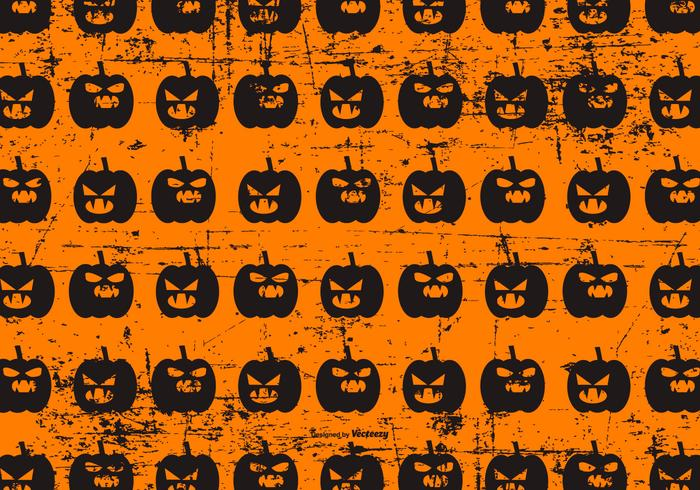 Cute Halloween Grunge Background
