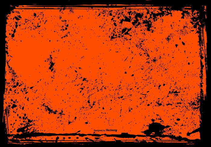 Halloween Grunge Frame Background