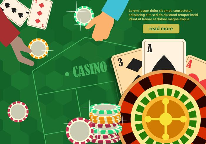 Roulette Casino Tablete vector
