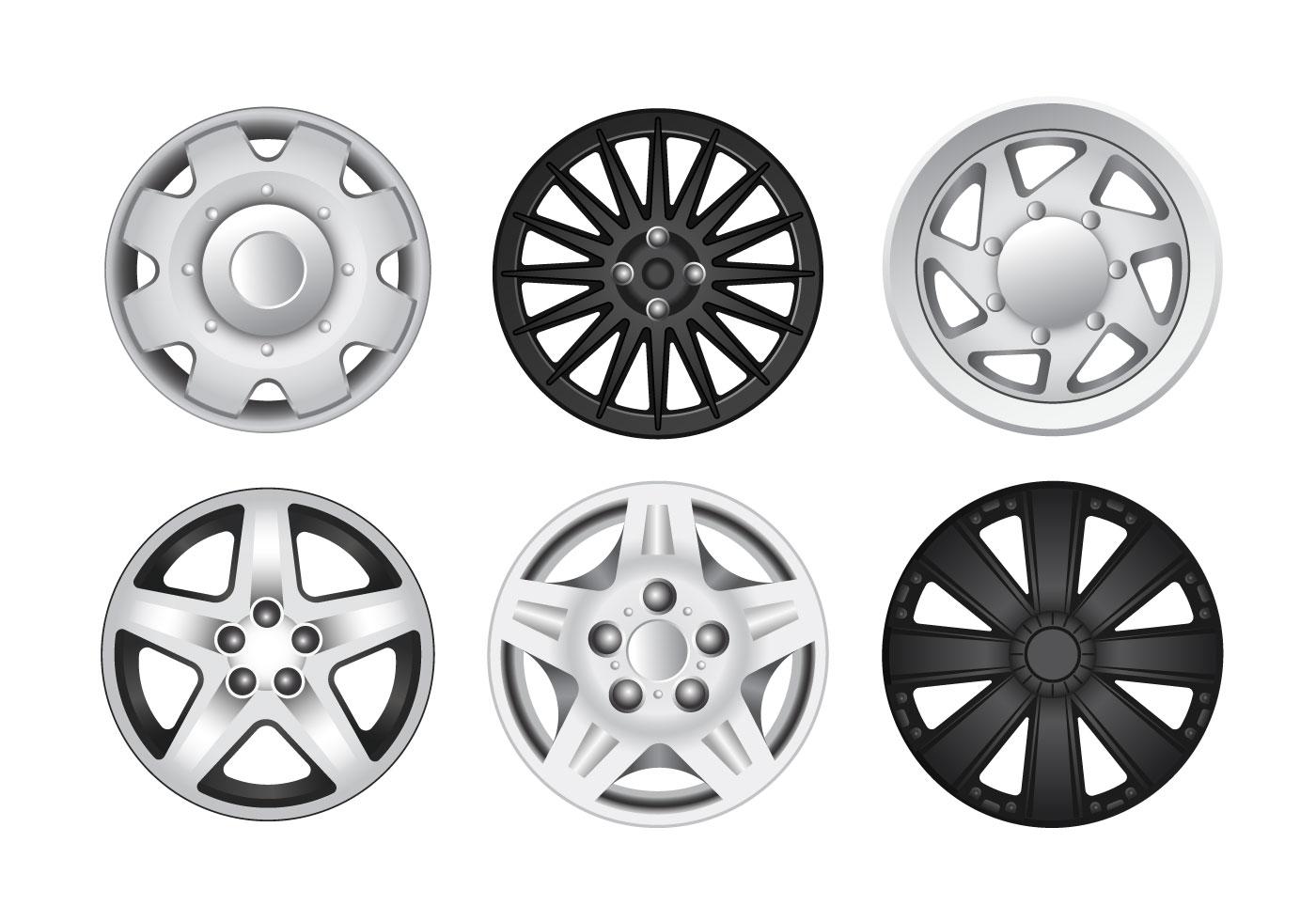 Car Wheel Free Vector Art