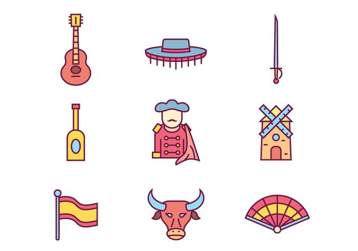Spain Culture Icons