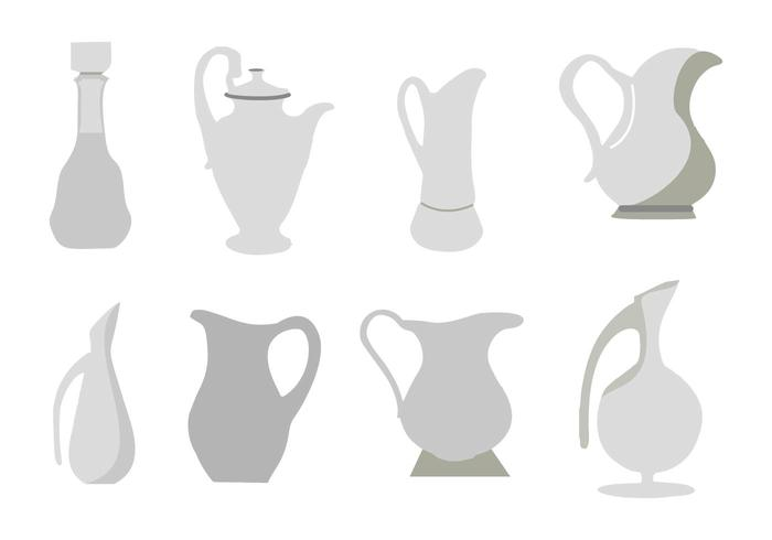 Free Decanters Icon Vector