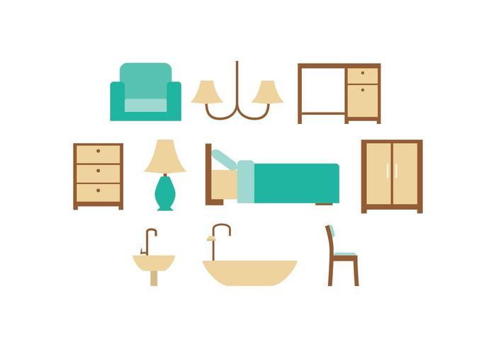 Free Furniture Icon Vector