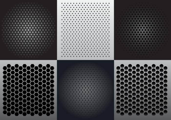 Speaker Grill Vector Seamless