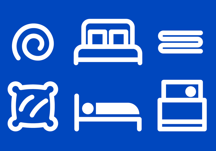 Bedding Icon Vector