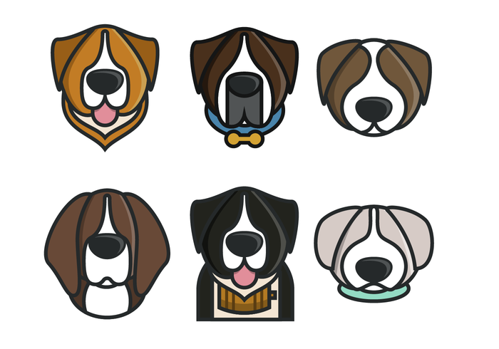 Beethoven Dog Vector