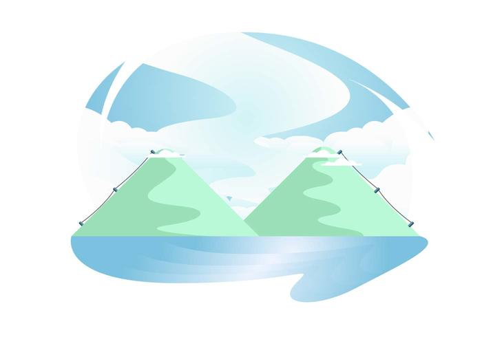 Everest Mountain Vector