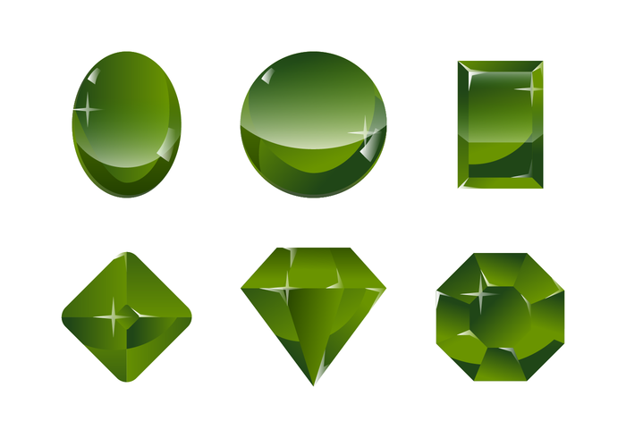 Green Serpentine Stone Vector