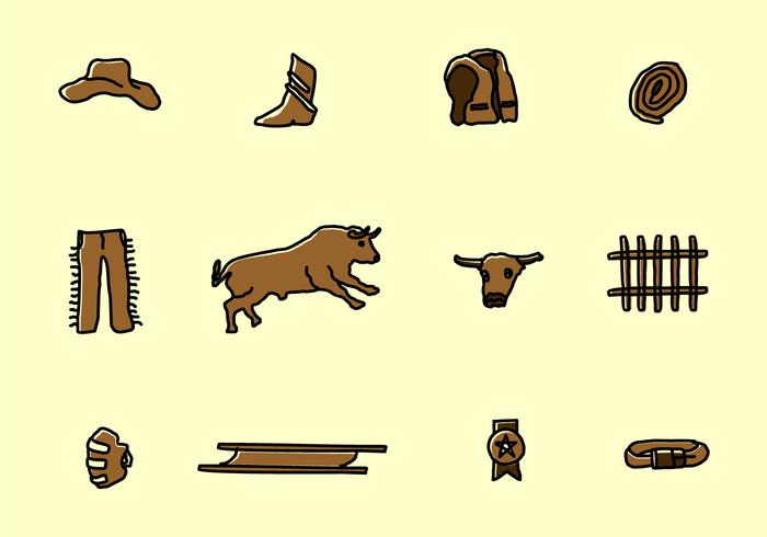 Bull Fighter Icons