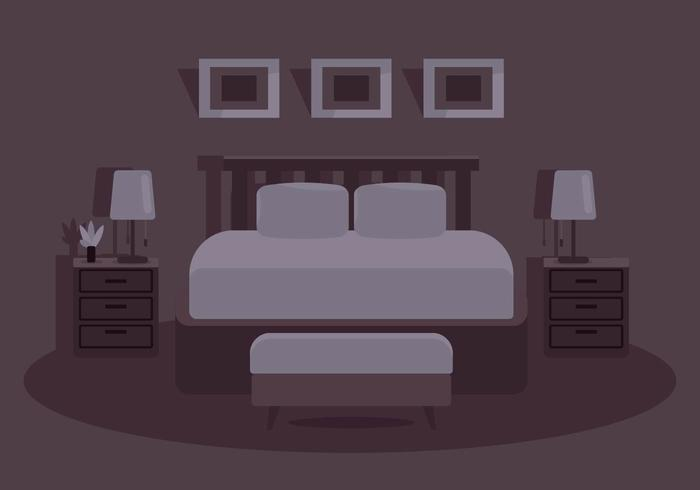 Bedding Illustration vector