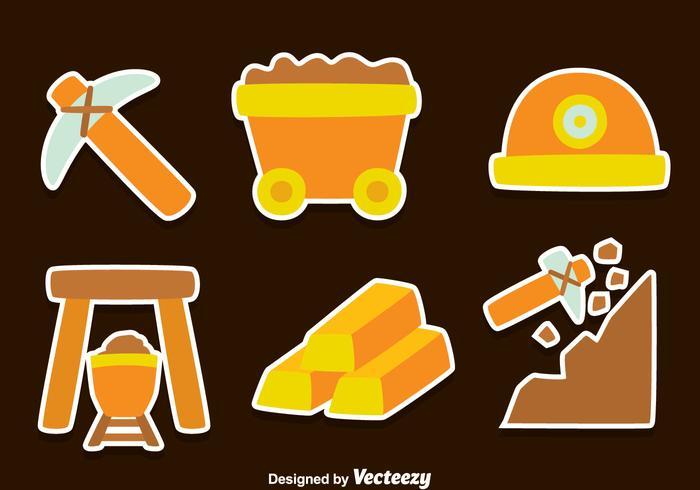 Gold Rush Element Vectors