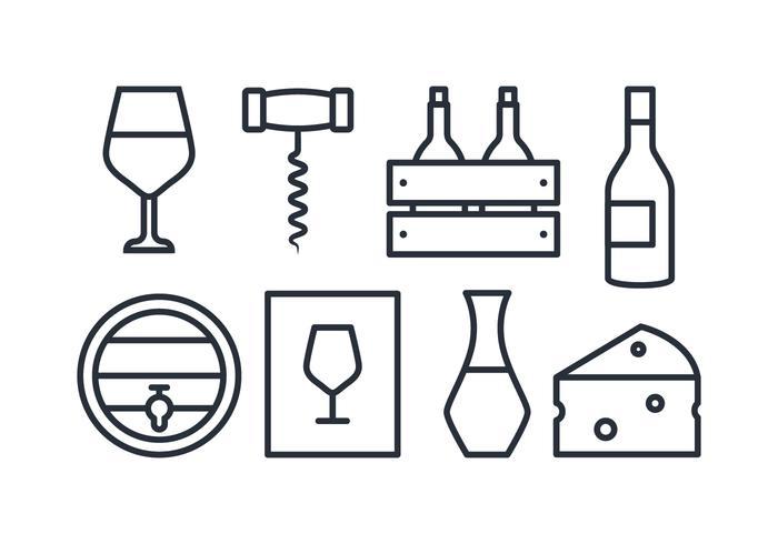 Vin Icon Set