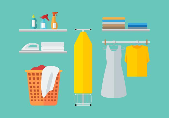 Ironing Board Free Vector