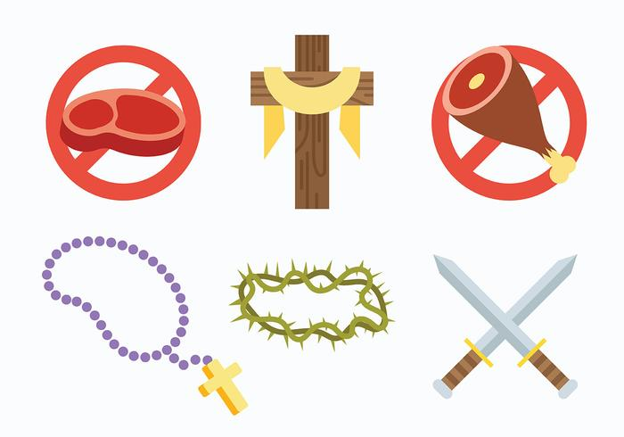Lent Vector Icons