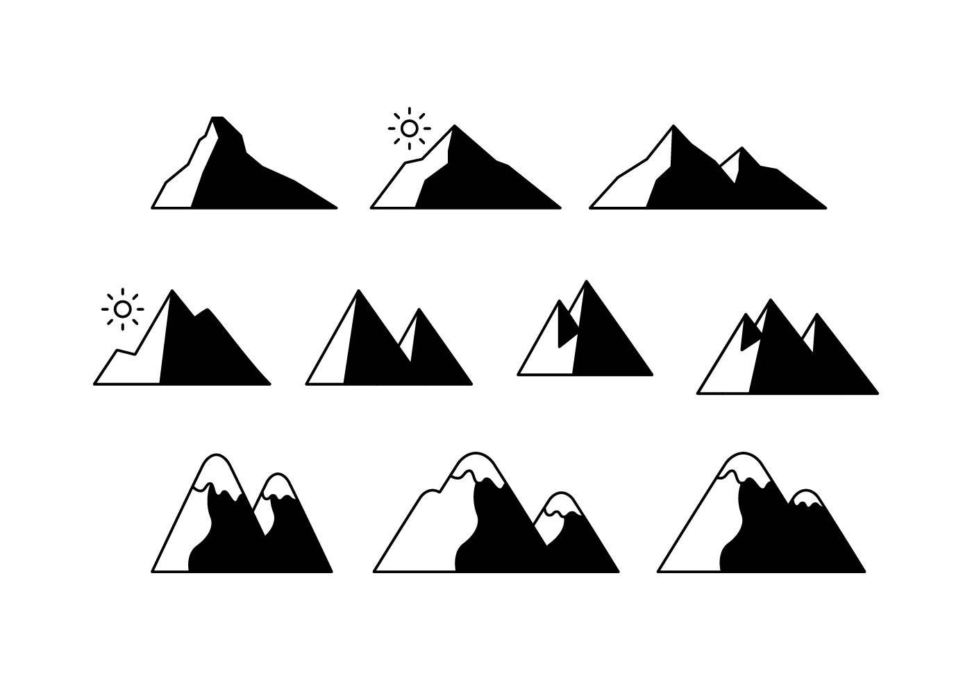 山插圖 免費下載   天天瘋後製