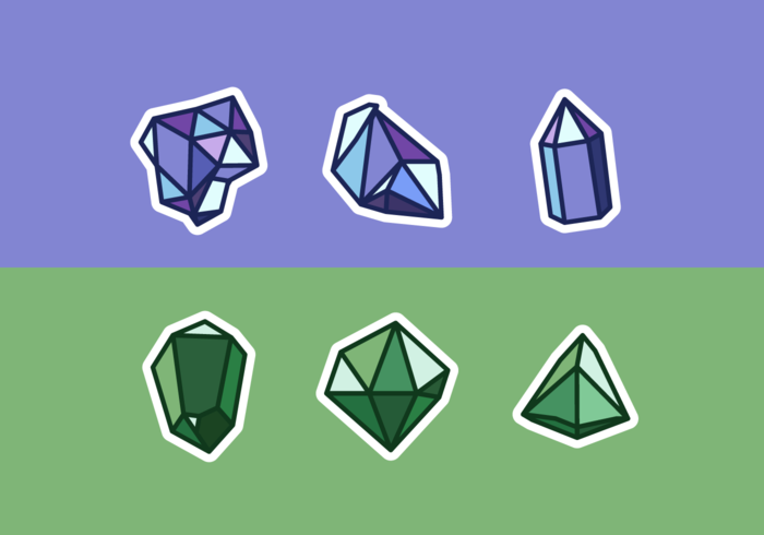 Quartz Free Vector Pack