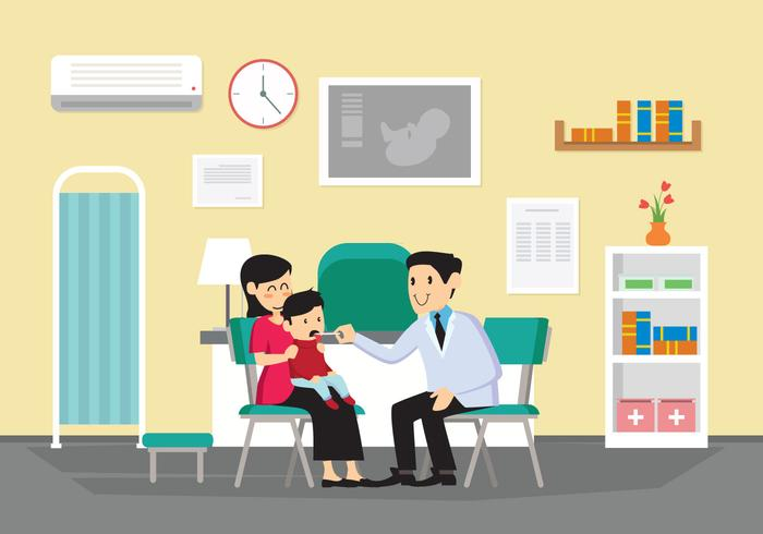 Pediatrician Vector