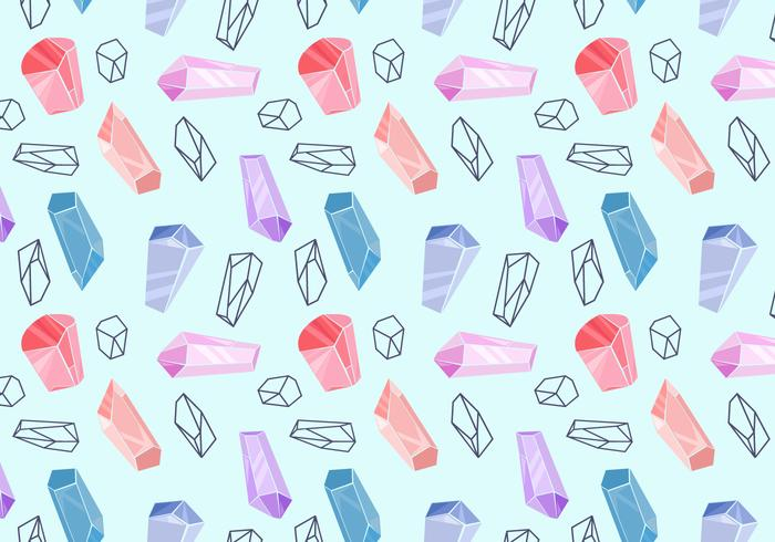 Free Crystal Pattern Vectors