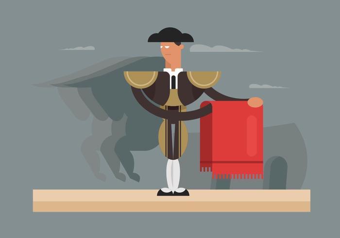 Ilustração de Bull Fighter