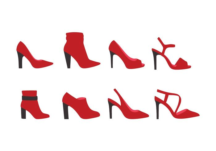 High Heels Vector Sammlung