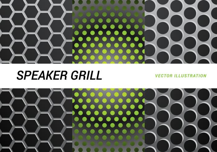 Lautsprecher Grill Vektor