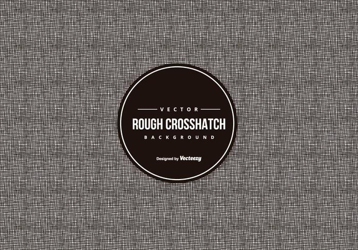 Rough Crosshatch Muster Hintergrund