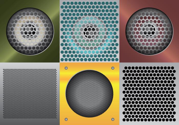 Speaker Grill Vectorillustratie