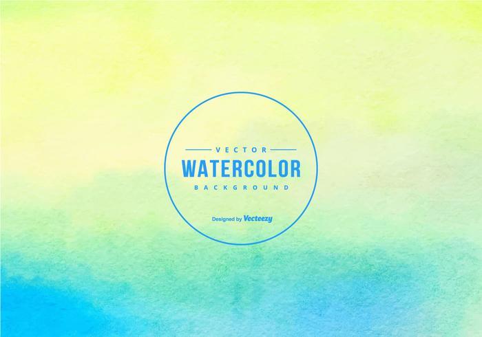 Beautiful Watercolor Vector Background