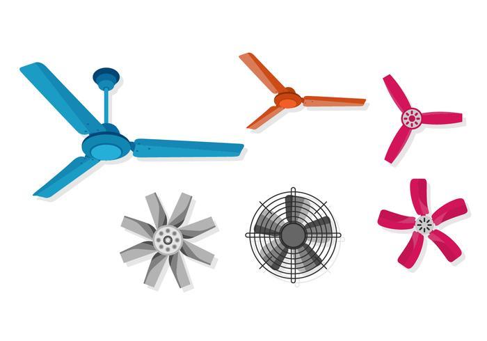 Six Vector Ceiling Fan