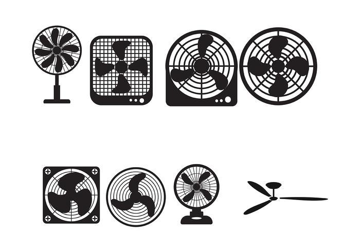 Deckenventilator Vektor Icon