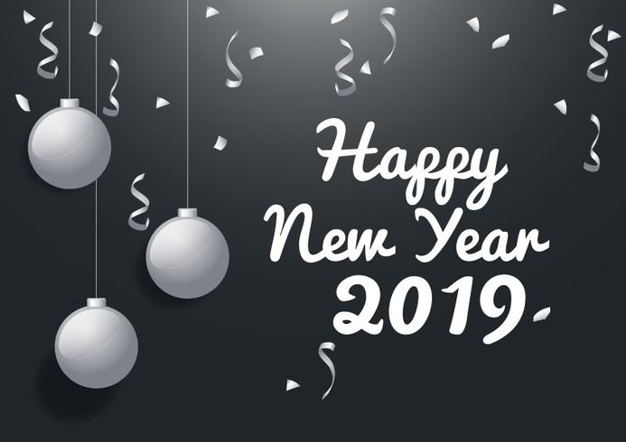 New Year 2019 Background Download Free Vector Art Stock Graphics