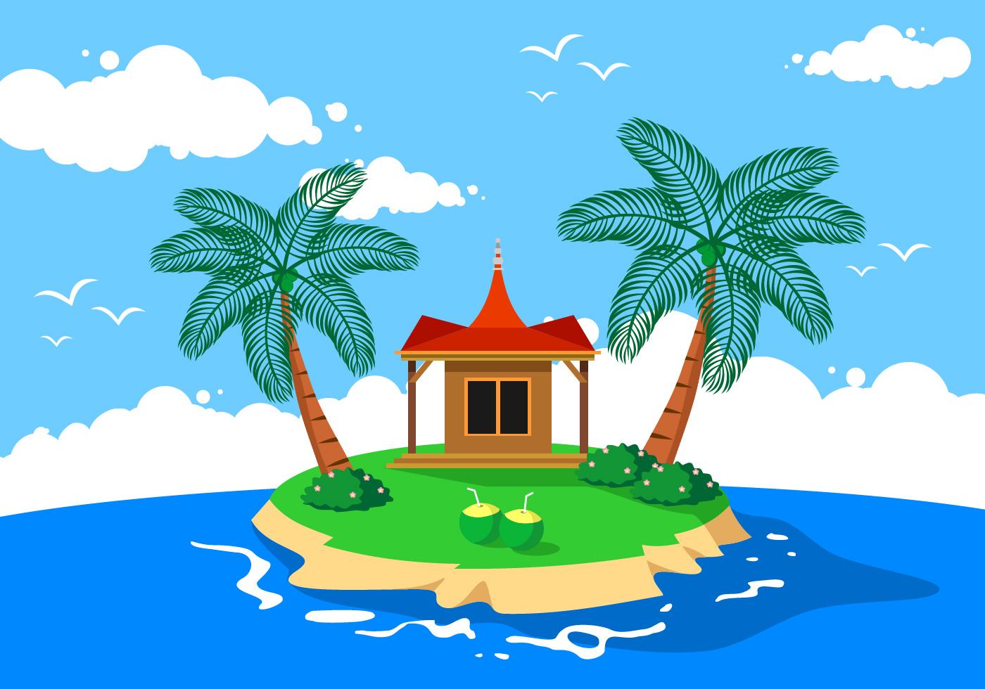 coconut kerala vector download free vector art stock