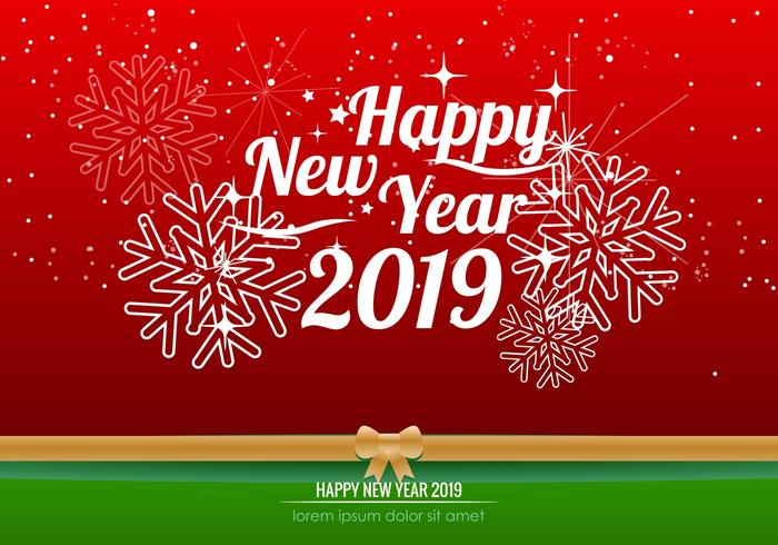 Happy New Year 2019 Background Download Free Vector Art Stock