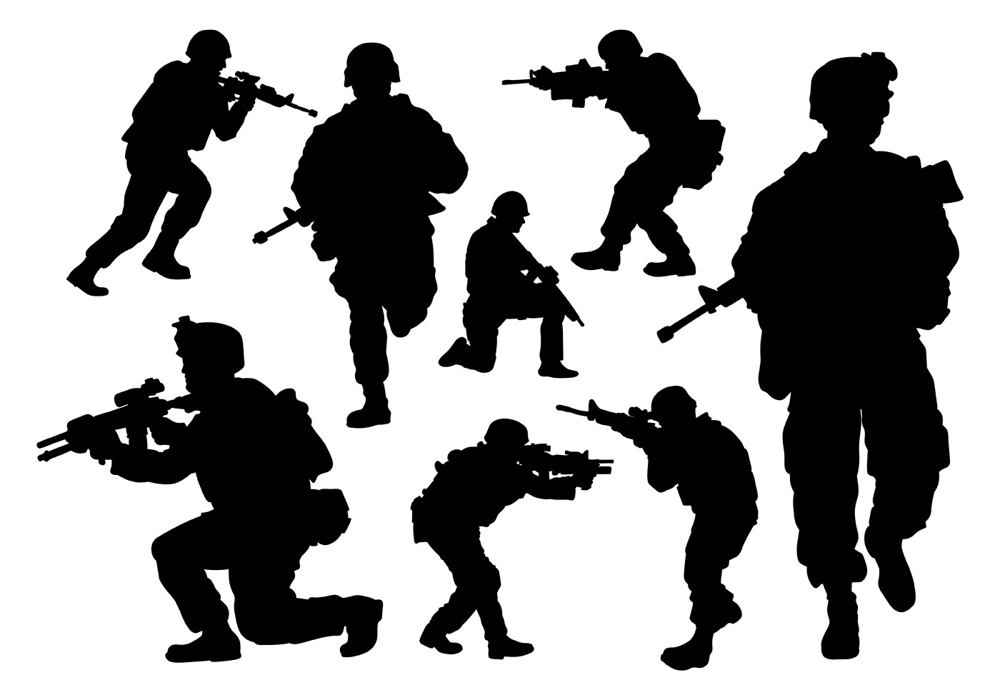 Army Free Vector Art 3384 Free Downloads