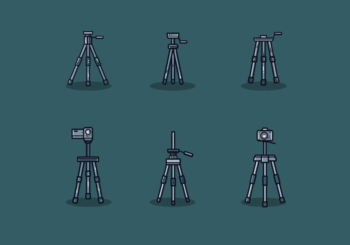 Free Camera Stativ Vektor