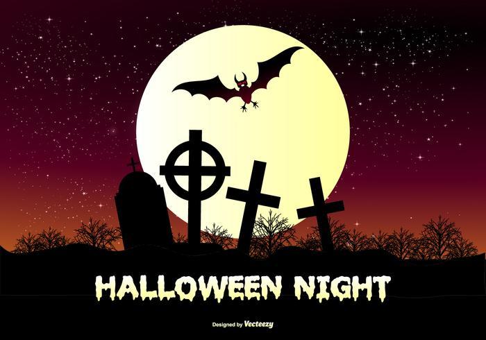 Halloween Background Illustration