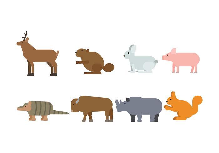 Animal Vector Icono
