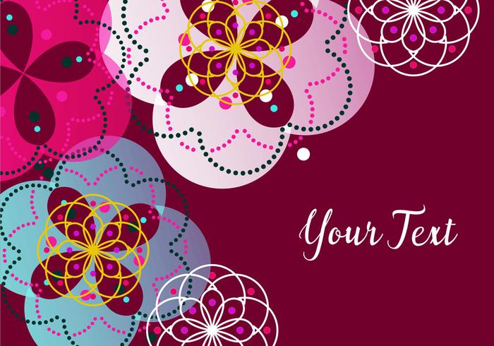 Kleurrijke Ornament Wallpaper
