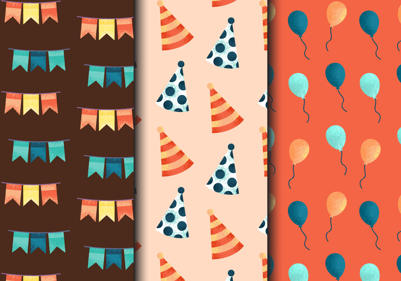 Free Vintage Birthday Party Patterns Download Free