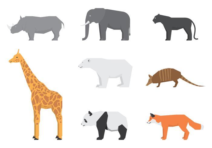Wild Animals Logos