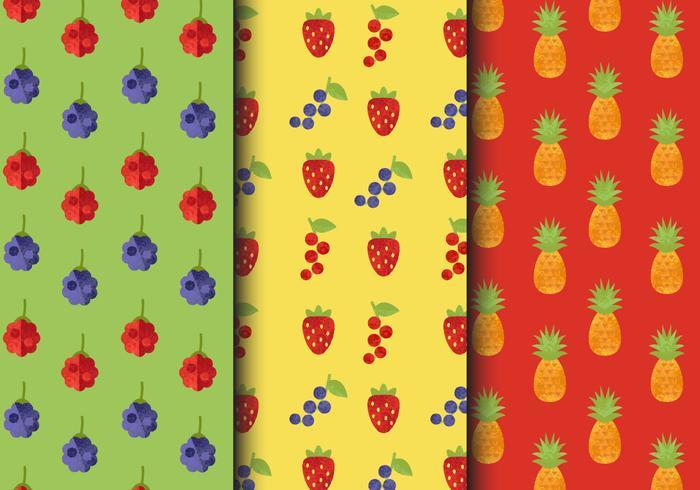 Gratis Vintage Fruitpatronen