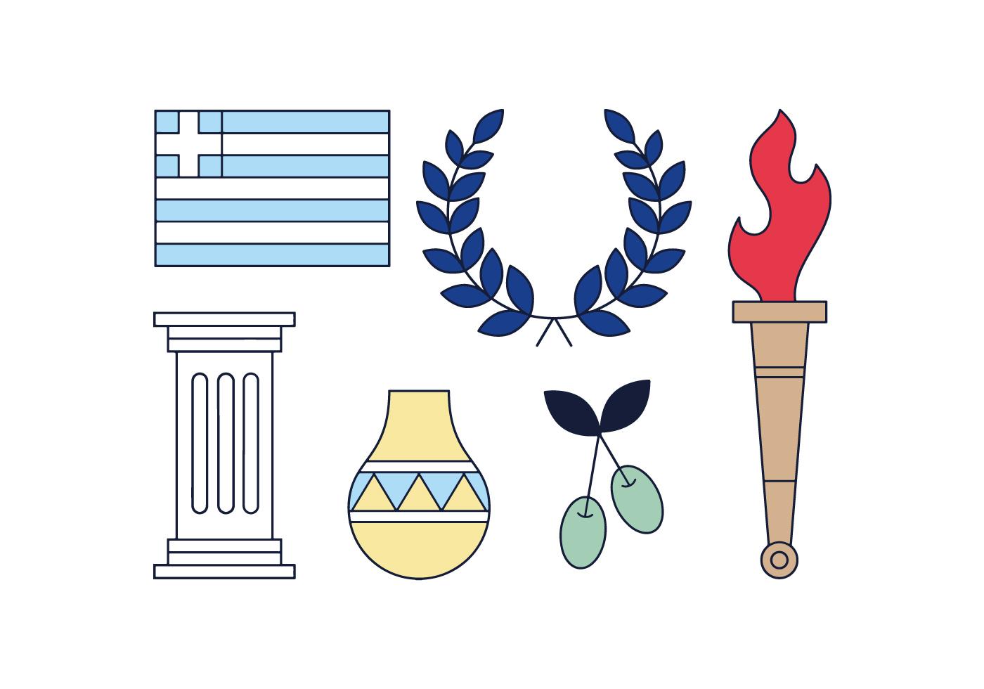 Греция символы картинки