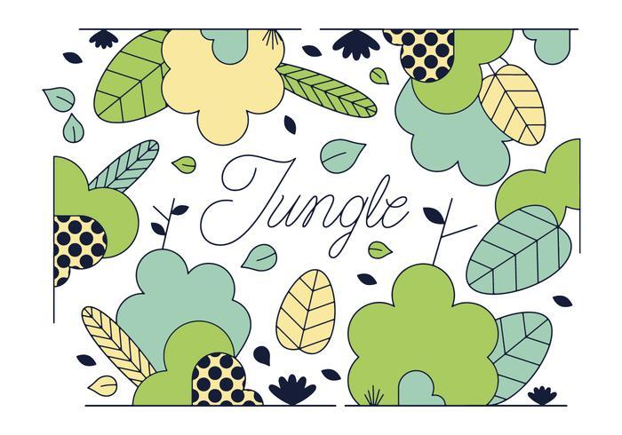 Gratis Jungle Vector